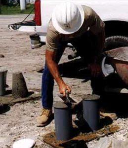 Zannino Engineering project Hampton Inn Short Pump concrete testing services